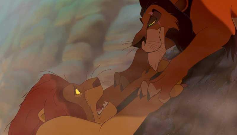 """Scar y Mufasa """"Que viva el Rey"""""""